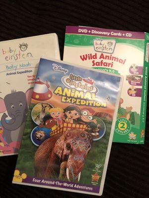 Baby Einstein and Little Einstein DVDs for Sale in Orland Park, IL