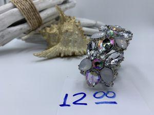 Rhinestone elastic Bracelet. size 3cm 3 1/2 cm for Sale in Oakhurst, NJ