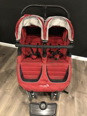 Baby jogger city mini double stroller for Sale in Fife, WA