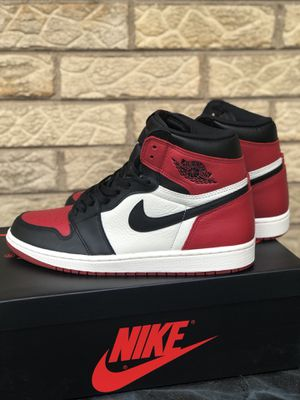 Jordan 1 Bred Toe Size 10 for Sale in Ford Heights, IL