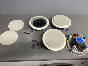 In-ceiling Speakers -two pairs for Sale in Livermore, CA
