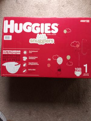Huggies Diapers sizes 1-4 for Sale in Renton, WA