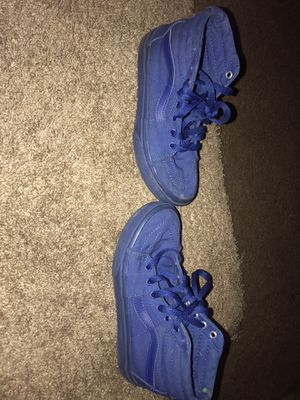 Blue vans size 3 for Sale in Reading, PA