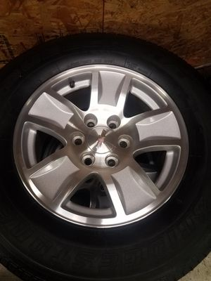 Awesome 17 inch chevy 6 lug rims wheels tires for Sale in Renton, WA