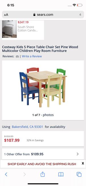 5 piece table chair set for Sale in Bakersfield, CA