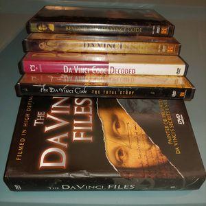 Leonardo DaVinci Code Mystery DVD Bundle for Sale in St. Louis, MO