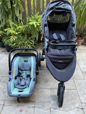 Baby Stroller + Car Seat + Extra Base + FREE Car Seat Canopy for Sale in Sunnyvale, CA