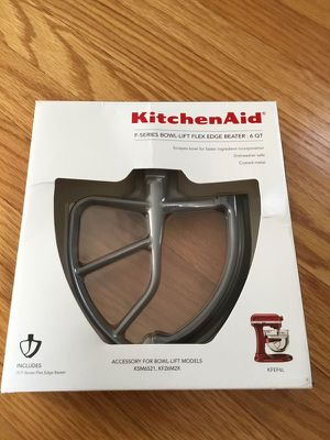 Kitchen Aid KFEF6L Bowl Lift Flex Edge Beater for Sale in Canton, MI
