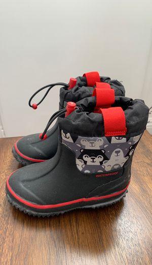 Waterproof snow/rain boots for kids for Sale in Burbank, CA