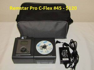 Remstar Pro C-Flex CPAP Machine with Power Supply. for Sale in Jacksonville, FL