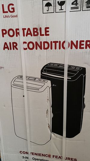 LG 1400 BTU portable AC with remote for Sale in St. Louis, MO
