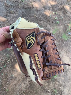 Louisville slugger baseball glove size 11 1/2 Omaha series Asking $40 for Sale in Fresno, CA