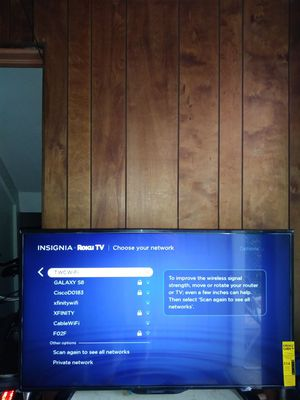 "40""INSIGNIA ROKU SMART LED 1080p TV for Sale in Chicago, IL"