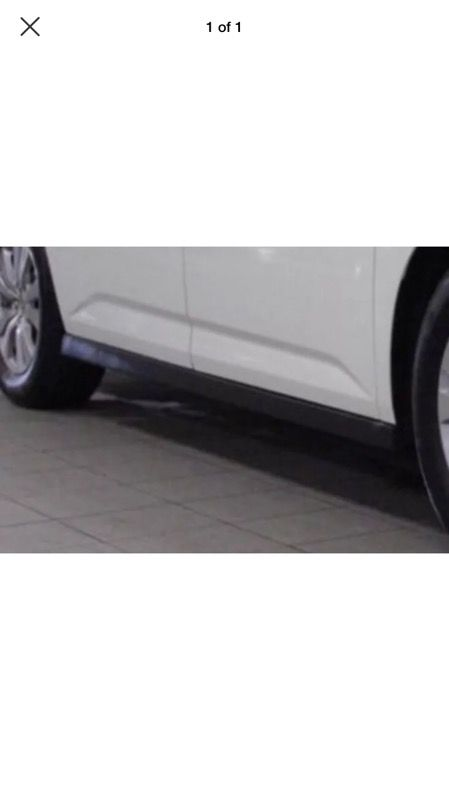(PART ONLY) 2012-2017 Honda Odyssey (2) rocker panels/side skirts black