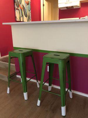 2 Metal Indoor-Outdoor Barstools. for Sale in Redmond, WA