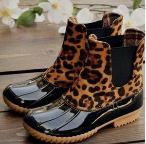 Slip On Leopard Duck Rain Boots for Sale in Pico Rivera, CA