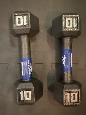 Dumbbells 💪 brand new!!! WOW WHAT A GREAT DEAL!!! for Sale in North Las Vegas, NV