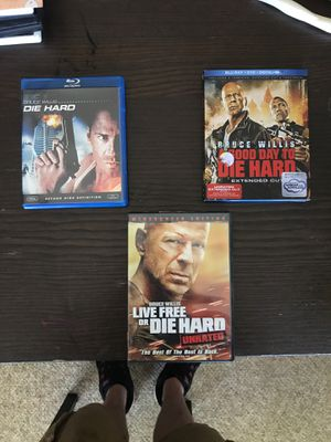 Die Hard Blu-Rays and DVD for Sale in La Grange Park, IL