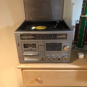 Free Record Player Tape 8 Track With Records for Sale in Salem, OR