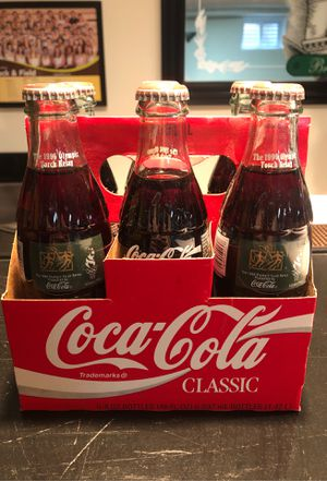 Coca-Cola Glass Bottles - 1996 Olympic Torch Relay Collectable Glasses for Sale in Elk Grove Village, IL