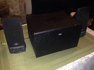 PC speakers w/ powered subwoofer for Sale in Philadelphia, PA
