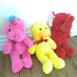 Toys Plush New (Elephant, Duck and Unicorn). for Sale in Riverside, CA