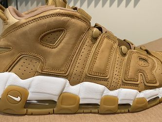 Air More Uptempo PRM Flax Sz 10.5 Used for Sale in Reynoldsburg,  OH