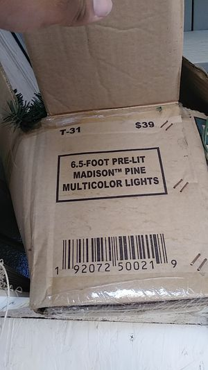 Christmas tree with lights for Sale in Corona, CA