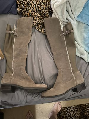 Calvin Klein leather boots for Sale in Riverside, CA