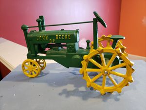 John Deere 0P die casting steel tractor toy for Sale in Chambersburg, PA