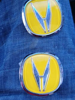 Custom Yellow Acura Badges for Sale in Tacoma,  WA