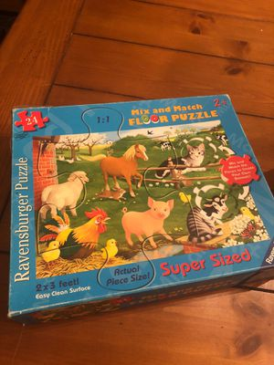 Ravensburger farm puzzle for preschoolers. Homeschool. Games. for Sale in Buckeye, AZ