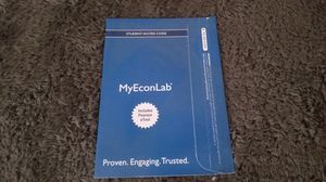 Unused MyEconLab Student Access Code for Sale in Mount Dora, FL