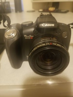 CANON POWER SHOT SX10 IS for Sale in Fairburn, GA