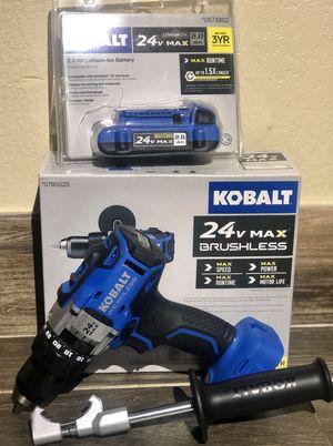 """Kobalt 1/2"""" brushless Hammer Drill for Sale in Phoenix, AZ"""