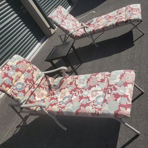 3 Piece outdoor patio set furniture with cushions, pool lounge chairs FREE DELIVERY WITHIN 5 MILES 👍 for Sale in Las Vegas, NV