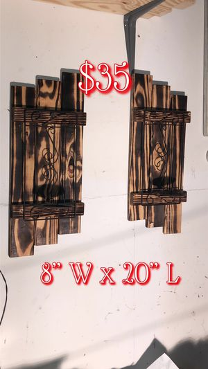 Shutter wall decor for Sale in Watauga, TX