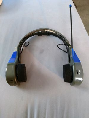 Am/Fm Sports Radio Headset for Sale in Pekin, IL