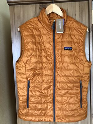 Patagonia Nano Puff Vest Hammonds Gold Size Small New With Tags for Sale in Lawndale, CA