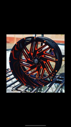 20x12 MONKEY RIMS AND TIRES for Sale in Phoenix, AZ
