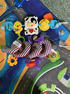 Car seat toys for Sale in Scranton, PA