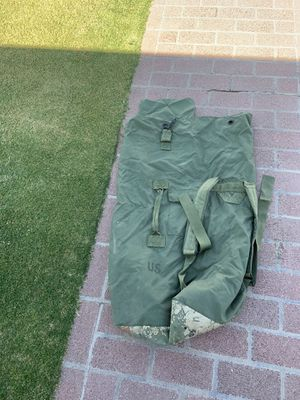 Military Canvas Duffle Bag for Sale in Glendale, AZ