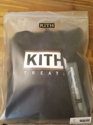Kith Ice cream sandwich hoodie black small for Sale in Vienna, VA
