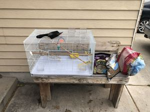 Bird Cage and Supplies for Sale in Orem, UT