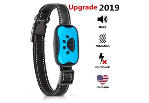 Bark Collar Humane Anti Barking Training Collar - Dog Anti-Barking Device - Vibration, Beep Mode for Small, Medium, Large Dogs All Breeds (Blue) for Sale in Rancho Cucamonga, CA
