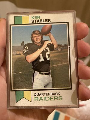 1973 Topps Ken Stabler Rookie Card—Mint for Sale in Pasco, WA