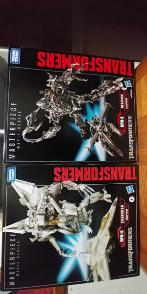 Transformers masterpiece figures / new for Sale in Houston, TX