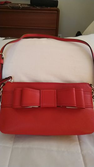 Kate Spade red bow cross body for Sale in Sharon, MA