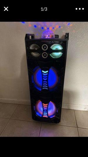 Karaoke Bluetooth speaker new in box for Sale in Modesto, CA