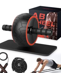 💪 $20 Brand New In Box Ab Wheel Exercise Equipment for Home Gym for Sale in Everett,  MA